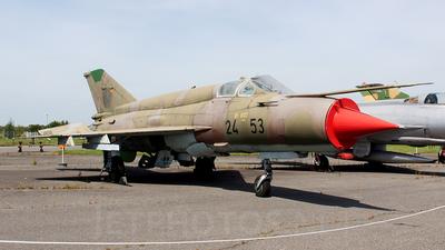 24-53 - Mikoyan-Gurevich Mig-21bis SAU Fishbed N - German Democratic Republic - Air Force