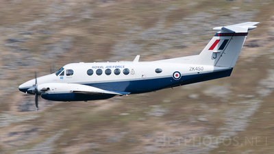 ZK450 - Beechcraft B200 Super King Air - United Kingdom - Royal Air Force (RAF)