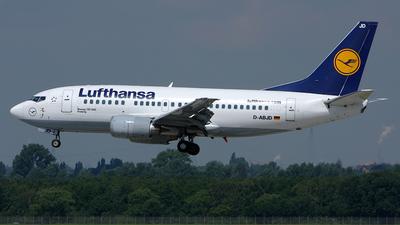 D-ABJD - Boeing 737-530 - Lufthansa