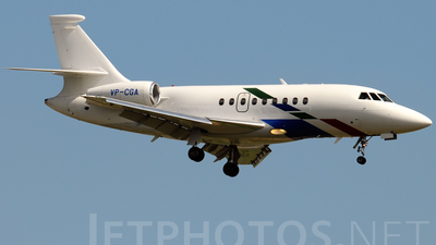 VP-CGA - Dassault Falcon 2000 - VW Air Services
