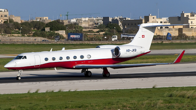 HB-JKB - Gulfstream G550 - Private
