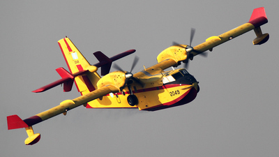 2049 - Canadair CL-415GR - Greece - Air Force