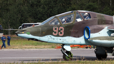 93 - Sukhoi Su-25UB Frogfoot - Russia - Air Force