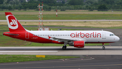 D-ALTF - Airbus A320-214 - Air Berlin