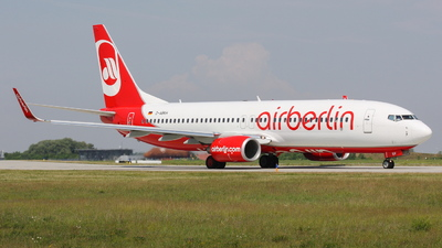 D-ABKH - Boeing 737-86J - Air Berlin