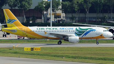 RP-C3243 - Airbus A320-214 - Cebu Pacific Air