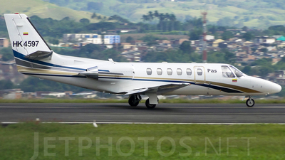 HK-4597 - Cessna 550B Citation Bravo - PAS - Petroleum Aviation and Services