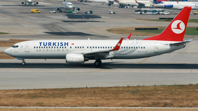 TC-JGN - Boeing 737-8F2 - Turkish Airlines