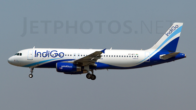 VT-IEY - Airbus A320-232 - IndiGo Airlines