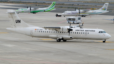 EC-JRP - ATR 72-212 - United Nations (Swiftair)