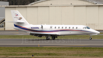 N396BB - Cessna 680 Citation Sovereign - Private