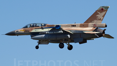 063 - Lockheed Martin F-16D Barak - Israel - Air Force