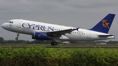 5B-DCF - Airbus A319-132 - Cyprus Airways