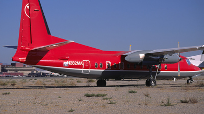 N282MA - Fokker F27-500 Friendship - Northwest Airlink (Mesaba Airlines)