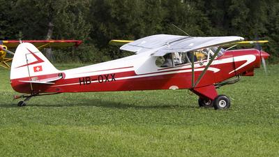 HB-OXX - Piper PA-18-150 Super Cub - Private