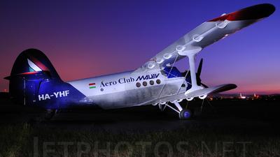HA-YHF - PZL-Mielec An-2 - Aero Club - Malev