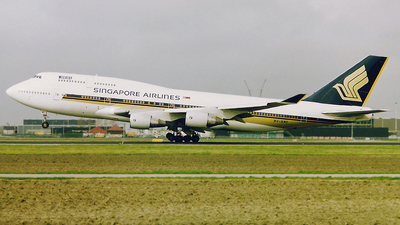 9V-SMC - Boeing 747-412 - Singapore Airlines