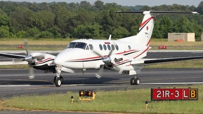 A picture of N771MG - Beech B200 Super King Air - EagleMed - © Kevin Porter