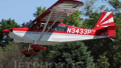 N3433P - Bellanca 7GCAA Citabria - Private