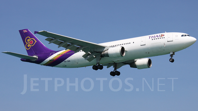 HS-TAN - Airbus A300B4-622R - Thai Airways International