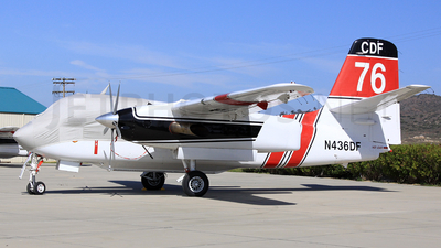 N436DF - Grumman S-2F3AT Turbo Tracker - United States - California Department of Forestry