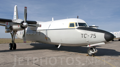 TC-75 - Fokker F27-500 Friendship - Argentina - Air Force