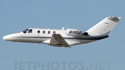 A picture of N18QA - Cessna 525 CitationJet CJ1 - [5250216] - © Agustin Anaya