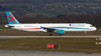 G-OOPE - Airbus A321-211 - First Choice Airways