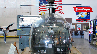 N39WL - Bell 47 - Private