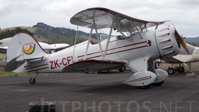 ZK-CFL - Waco YMF-5 - Private