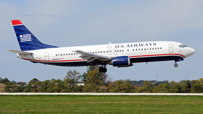 N409US - Boeing 737-401 - US Airways