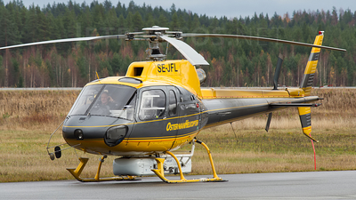SE-JFL - Eurocopter AS 350B2 Ecureuil - Osterman Helicopter