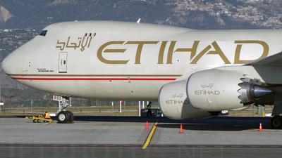 N855GT - Boeing 747-87UF - Etihad Cargo (Atlas Air)
