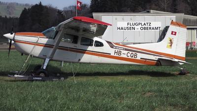 A picture of HBCQB - Cessna A185F Skywagon - [18504093] - © Mirko Bleuer
