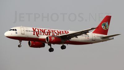 VT-DKR - Airbus A320-232 - Kingfisher Airlines