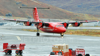 OY-GRF - De Havilland Canada DHC-7-103 Dash 7 - Air Greenland
