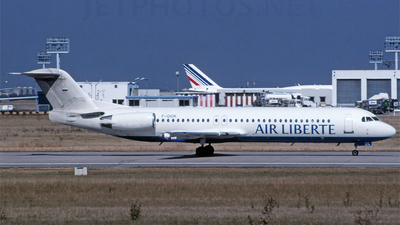 A picture of FGIOK - Fokker 100 - [11455] - © PAUL LINK