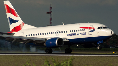 G-GFFI - Boeing 737-528 - British Airways