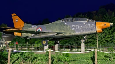 MM54412 - Fiat G91-T/1 - Italy - Air Force