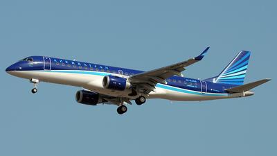 4K-AZ64 - Embraer 190-100IGW - AZAL Azerbaijan Airlines