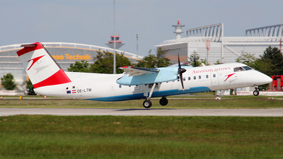 OE-LTM - Bombardier Dash 8-311 - Austrian Arrows