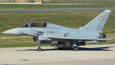 30-20 - Eurofighter Typhoon EF2000 - Germany - Air Force