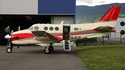 A picture of GBMKD - Beech C90A King Air - [LJ1069] - © Dominik Burger