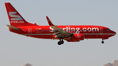 OY-MRE - Boeing 737-7L9 - Cimber Sterling Airlines