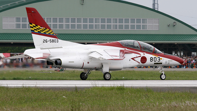 26-5803 - Kawasaki T-4 - Japan - Air Self Defence Force (JASDF)