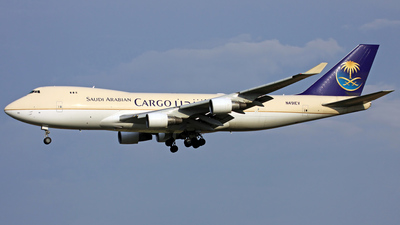 N491EV - Boeing 747-412F(SCD) - Saudi Arabian Airlines Cargo (Evergreen International Airlines)