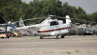 UP-MI814 - Mil Mi-8MTV-1 Hip - Kazakhstan - Government