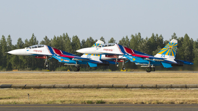 24 - Sukhoi Su-27UB Flanker C - Russia - Air Force