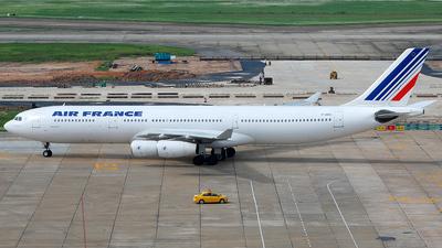 F-GNIG - Airbus A340-313X - Air France
