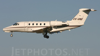 CS-DNE - Cessna 650 Citation VII - NetJets Europe